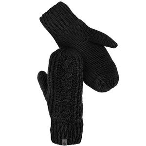 🆕 The North Face Cable Knit Mitt Black